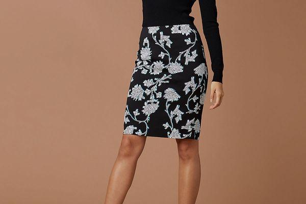 Diane von Furstenberg Kara Two Pencil Skirt