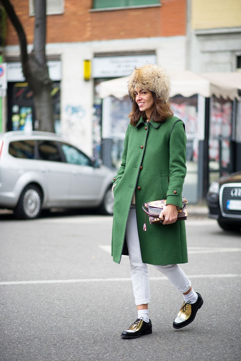 Viviana Volpicella Street Style Milan Men 39 S Fashion Week The Cut