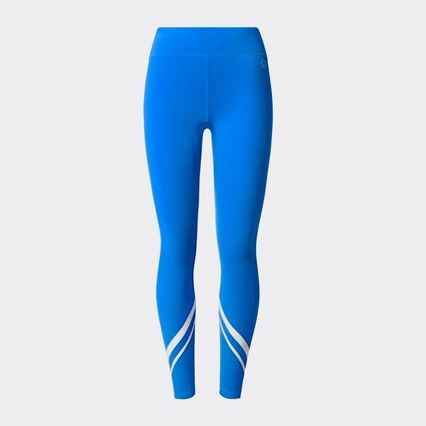 blue tory sport chevron leggings