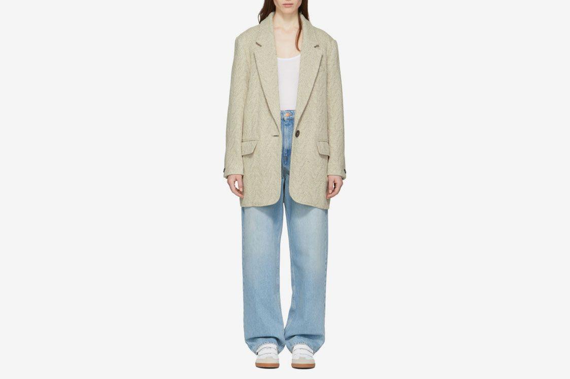 Isabel Marant Etoile Herringbone Coat