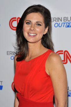 "NEW YORK, NY - SEPTEMBER 27:  CNN anchor Erin Burnett attends the launch party for CNN's ""Erin Burnett OutFront"" at Robert atop the Museum of Arts and Design on September 27, 2011 in New York City.  (Photo by Stephen Lovekin/Getty Images)"