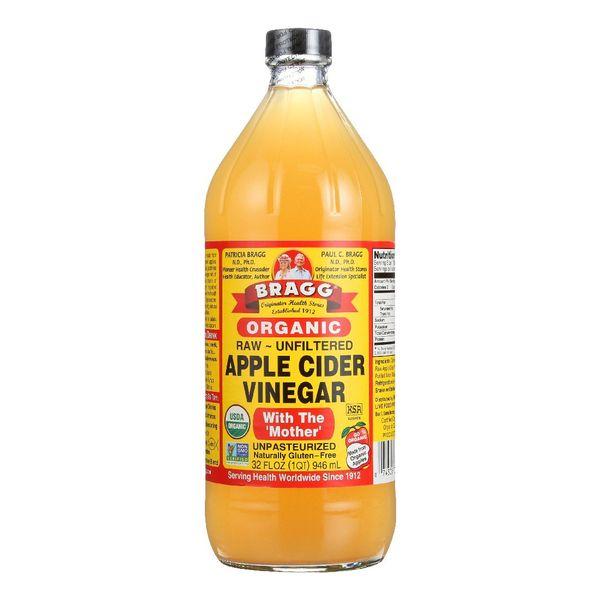 Bragg Organic Raw Apple Cider Vinegar, 32 oz.