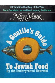 The Underground Gourmet's Guide to Jewish Food (July 1968)