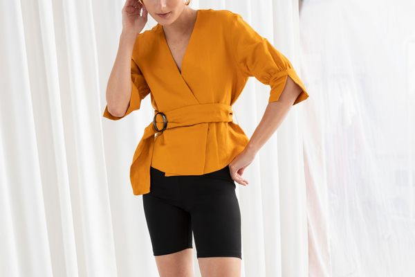 &Other Stories High Waisted Cycling Shorts