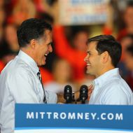 Mitt Romney Campaigns Throughout Florida