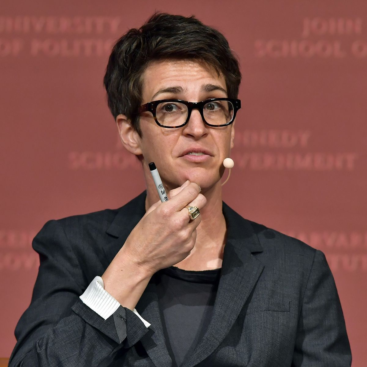 Rachel Maddow Enters Quarantine After Contact COVID Positive
