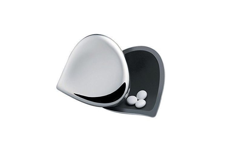 Alessi Chestnut Stainless Steel Pill Box