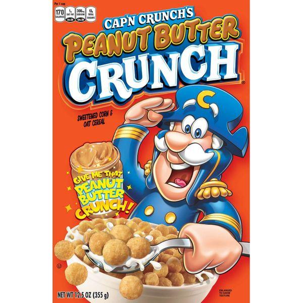 Cap'n Crunch Peanut Butter Crunch Breakfast Cereal