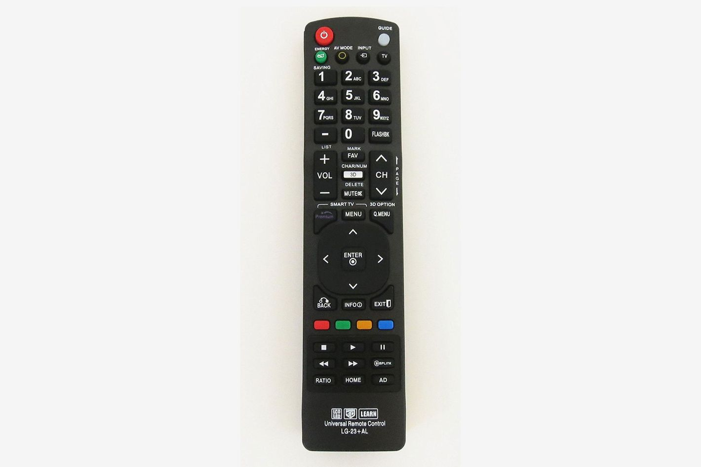 Nettech New LG AKB72915239 Universal Remote Control for All LG BRAND TV, Smart TV - 1 Year Warranty(LG-23+AL)