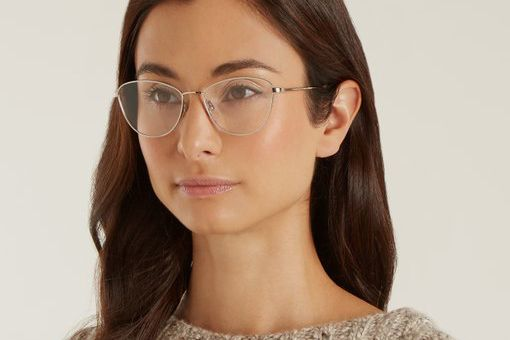 Garrett Leight Olive 51 Cat-Eye Glasses