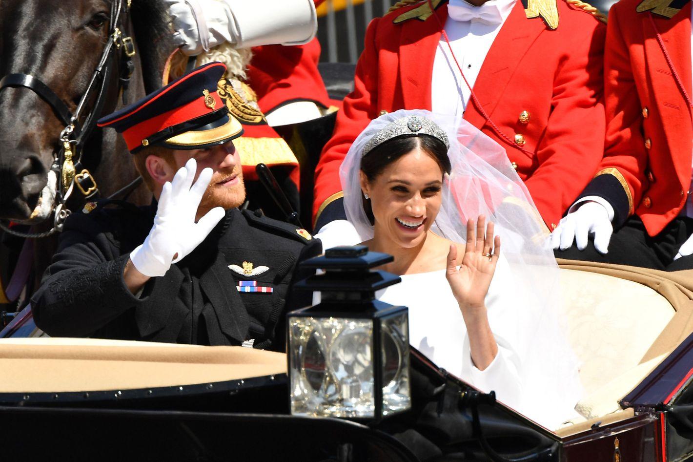 Inside Meghan Markle, Prince Harry\'s Royal Wedding Reception