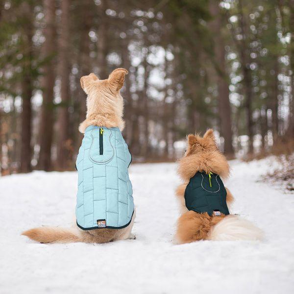 Kurgo Loft Reversible Insulated Quilted Dog Coat