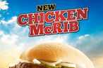 There's a Motherflippin' Chicken McRib Now