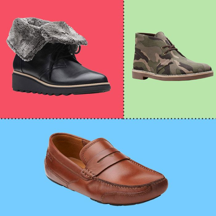 5901e424731957 Lots of Winter-Ready Men s and Women s Clarks Boots and Shoes Are on Sale  Right Now