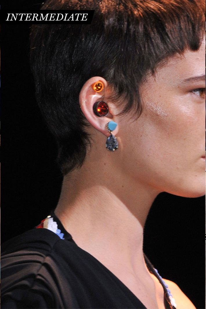 Zoom Shot Pop Quiz Earrings Pleats And More