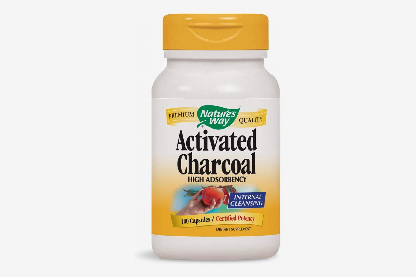 Nature's Way Charcoal Activated 100 Capsules