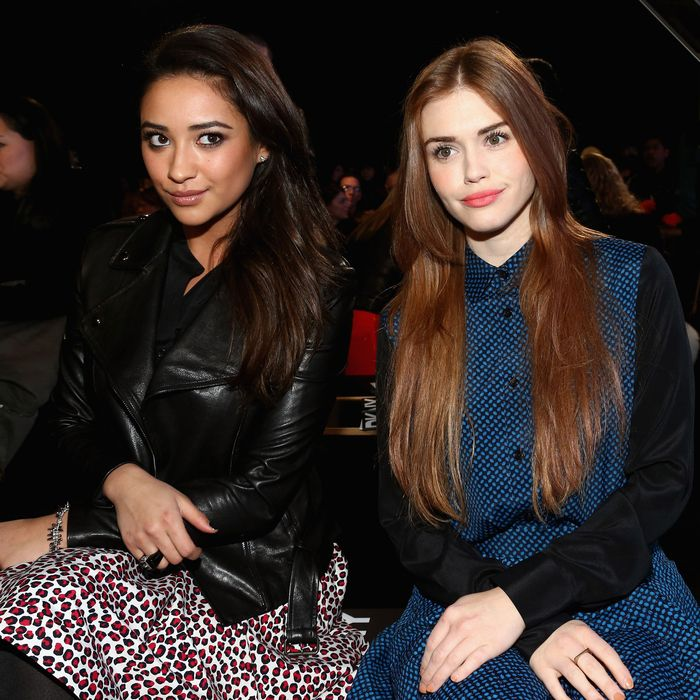 Shay Mitchell and Holland Roland.