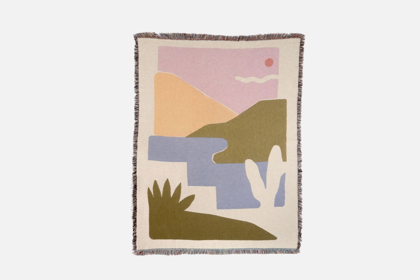 Tactile Home Horizon Throw