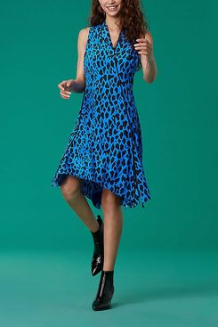 Diane von Furstenberg Sleeveless Bias Dress