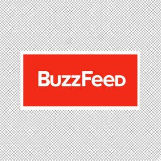 BuzzFeed logo.
