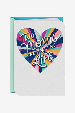 Two Moms, One Amazing Life Mother's Day Card