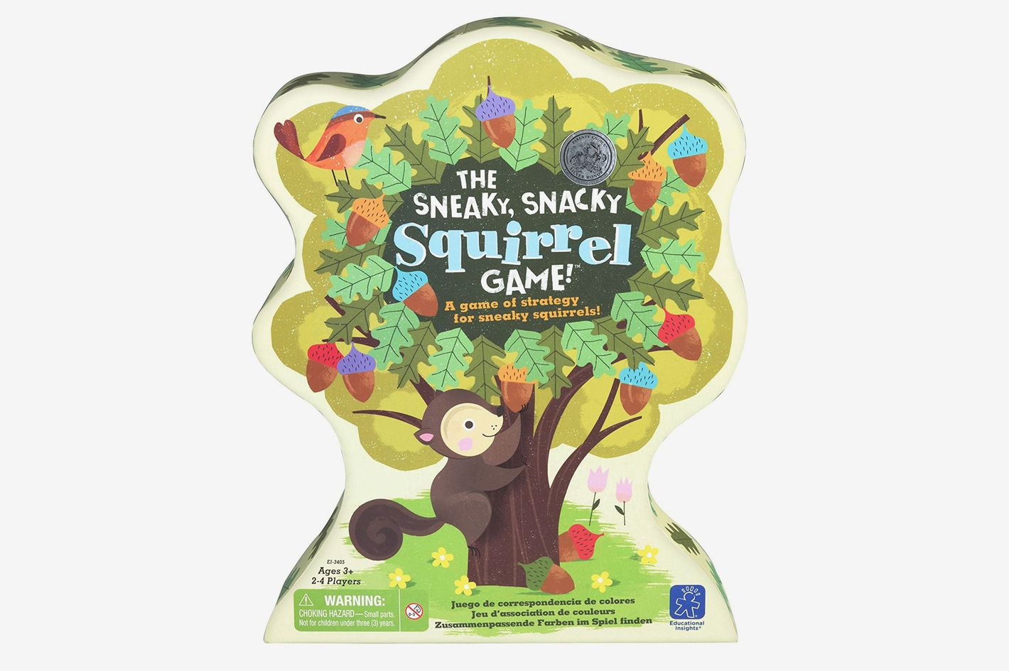 Educational Insights: The Sneaky, Snacky Squirrel Game