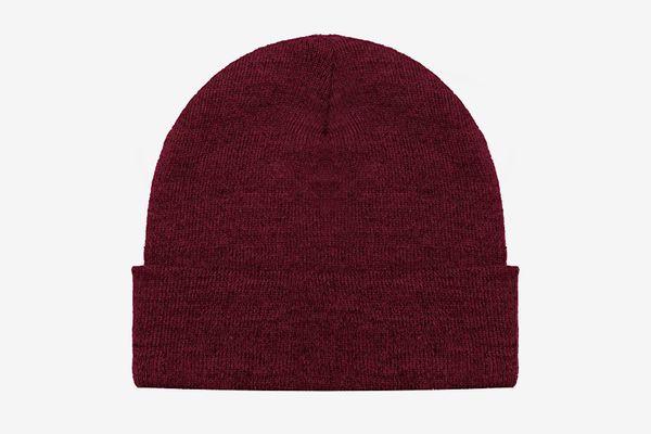 Blueberry Uniforms Merino Wool Beanie Hat