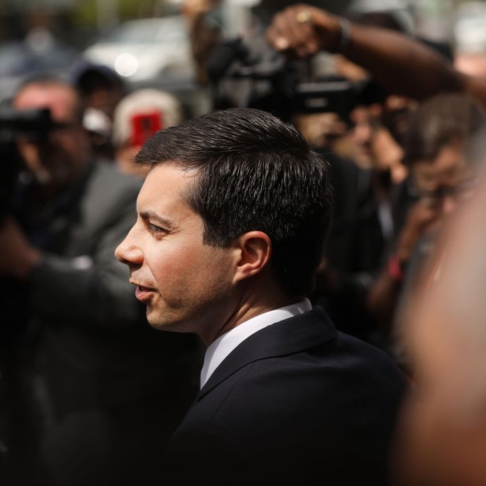 Presidential candidate and former-South Bend, Indiana, Mayor Pete Buttigieg.