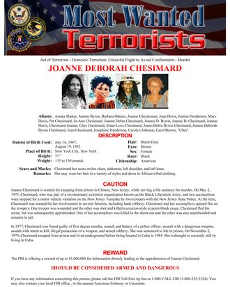 Meet the FBI's First Most Wanted Lady-Terrorist
