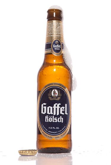"Privatbrauerei Gaffel Becker & Co. (Germany)<br>$3 for 11.2 oz. <br><strong>Type:</strong> Kölsch<br><strong>Tasting notes:</strong> ""The perfect combination of a clean, crisp blond lager and fruity ale. It's perfectly balanced; a crowd-pleaser."" <br>—Erik Olsen, manager, Brouwerij Lane<br> <br>"