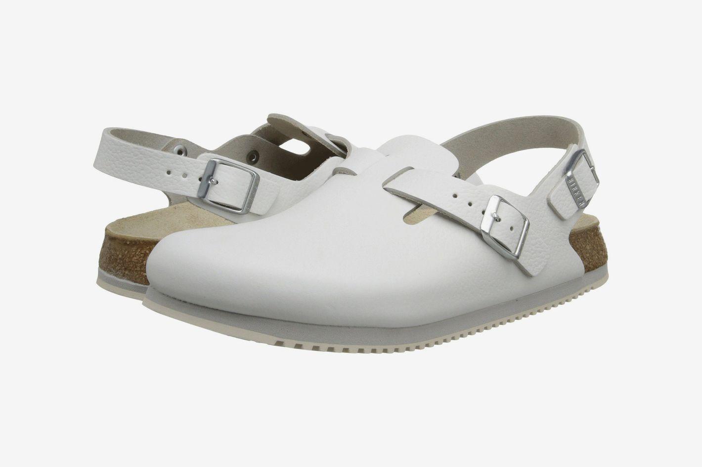 Birkenstock Tokyo Super Grip White Leather
