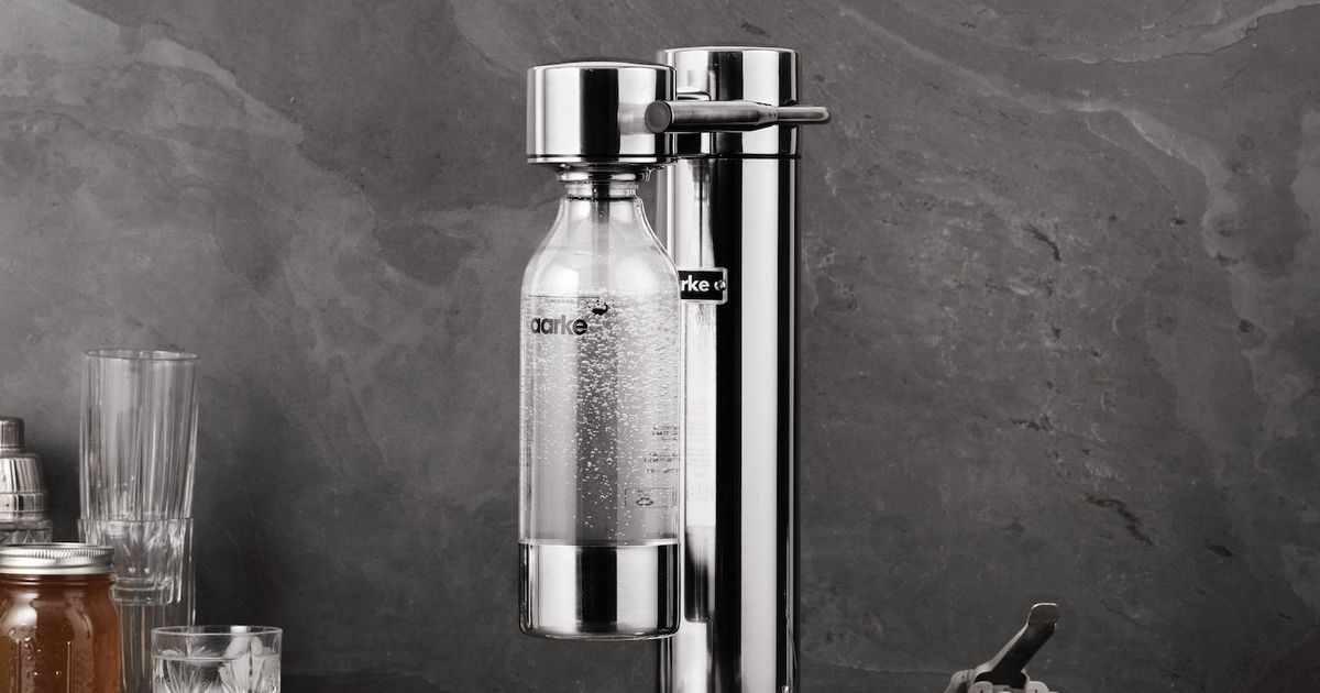 This Swedish Sparkling Water Maker Is the Best (and Most Stylish) At-Home Soda Machine