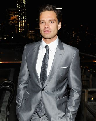 Actor Sebastian Stan attends The Cinema Society & Gucci Guilty screening of Marvel's