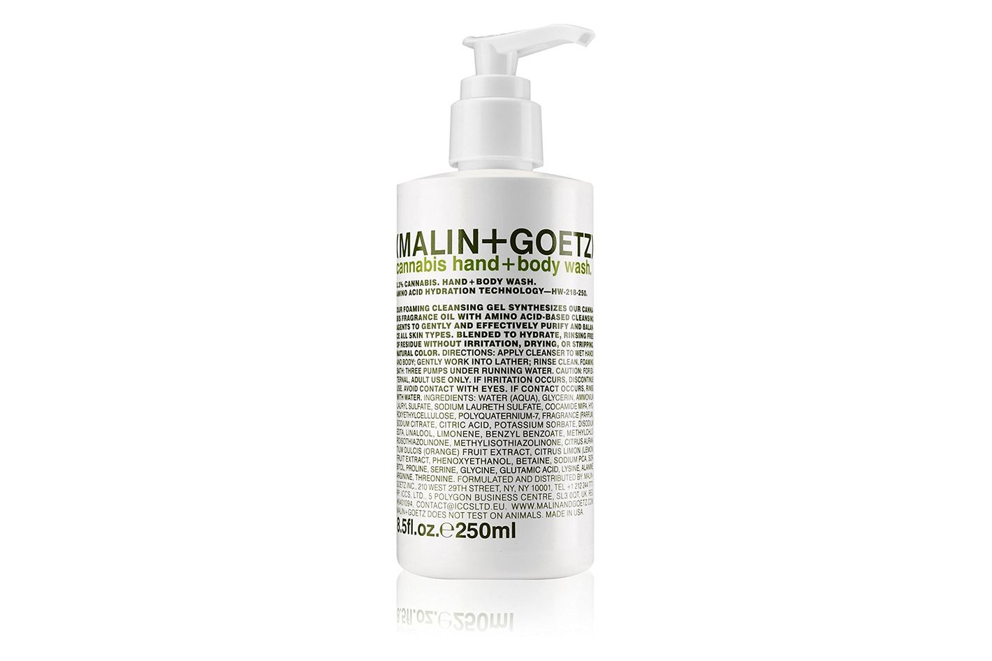 Malin + Goetz Hand + Body Wash, Lime