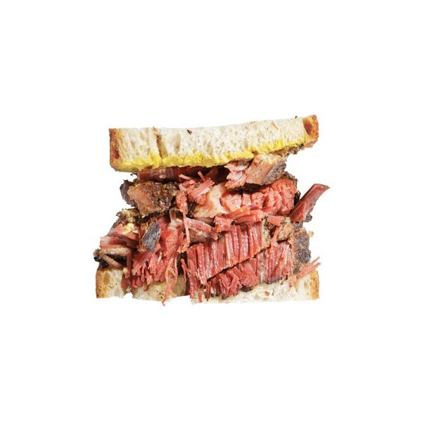 Glorious smoked meat.