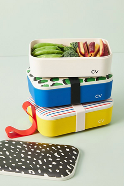 Clare V. for Anthropologie Bamboo Melamine Bento Box