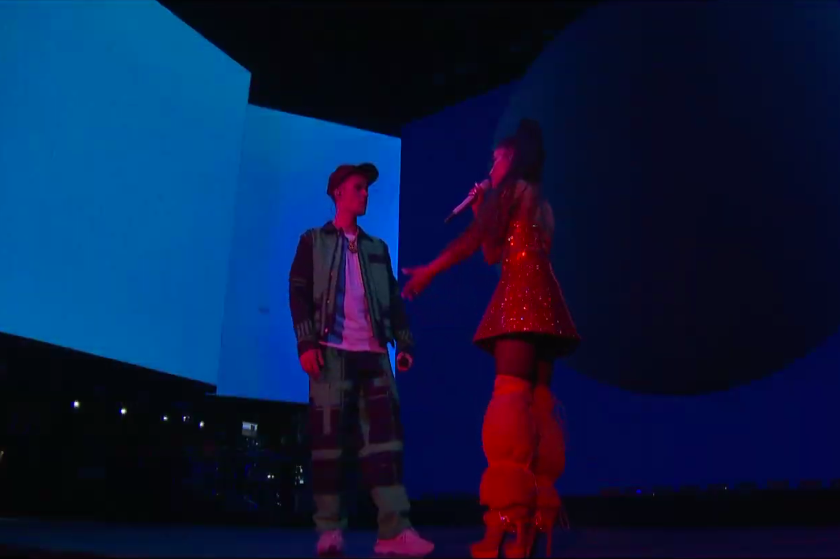 How Nice of Justin Bieber to End His Hiatus for Ariana Grande at Coachella and Tease New Album