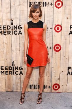 Model Karlie Kloss attends FEED USA + Target launch event on June 19, 2013 in New York City.