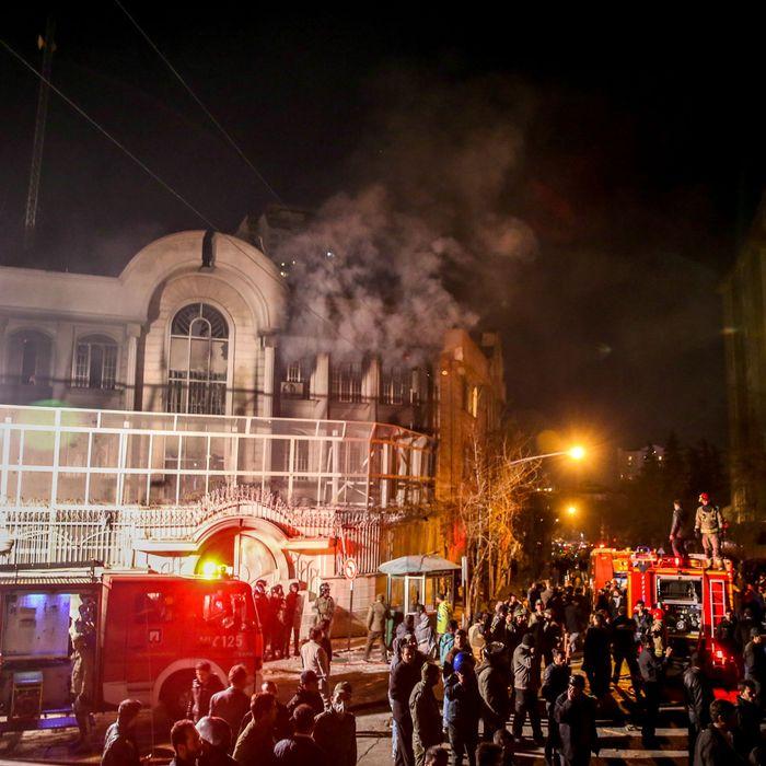 TOPSHOT-IRAN-SAUDI-EXECUTION-PROTEST