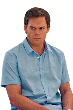 Michael C. Hall as Dexter Morgan in Dexter (Season 8, episode 2).