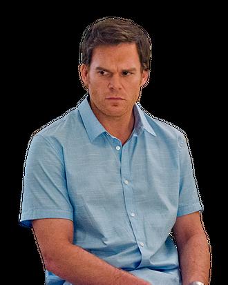 Michael C. Hall as Dexter Morgan in Dexter (Season 8, episode 2).