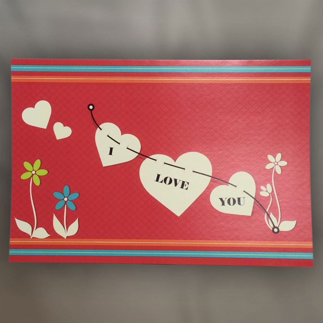 DIY Recordable I Love You Card