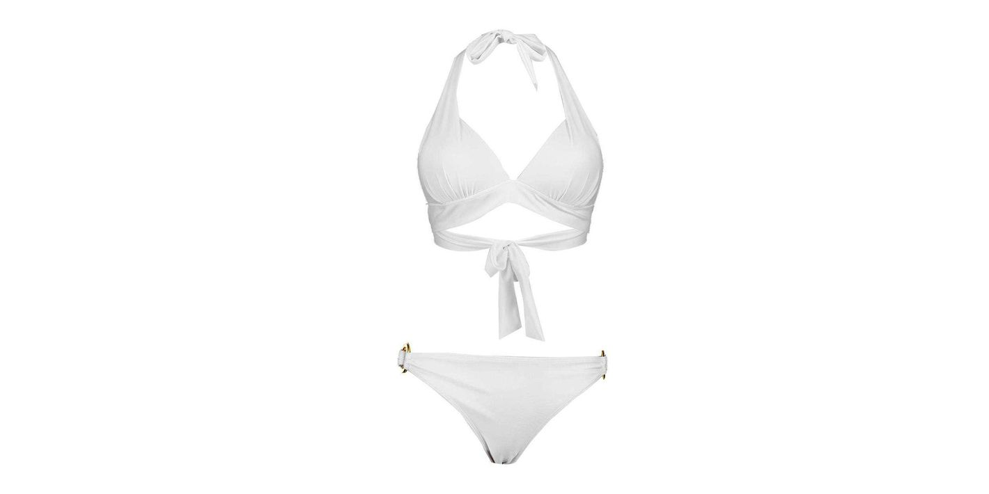 Boohoo Triangle Bikini