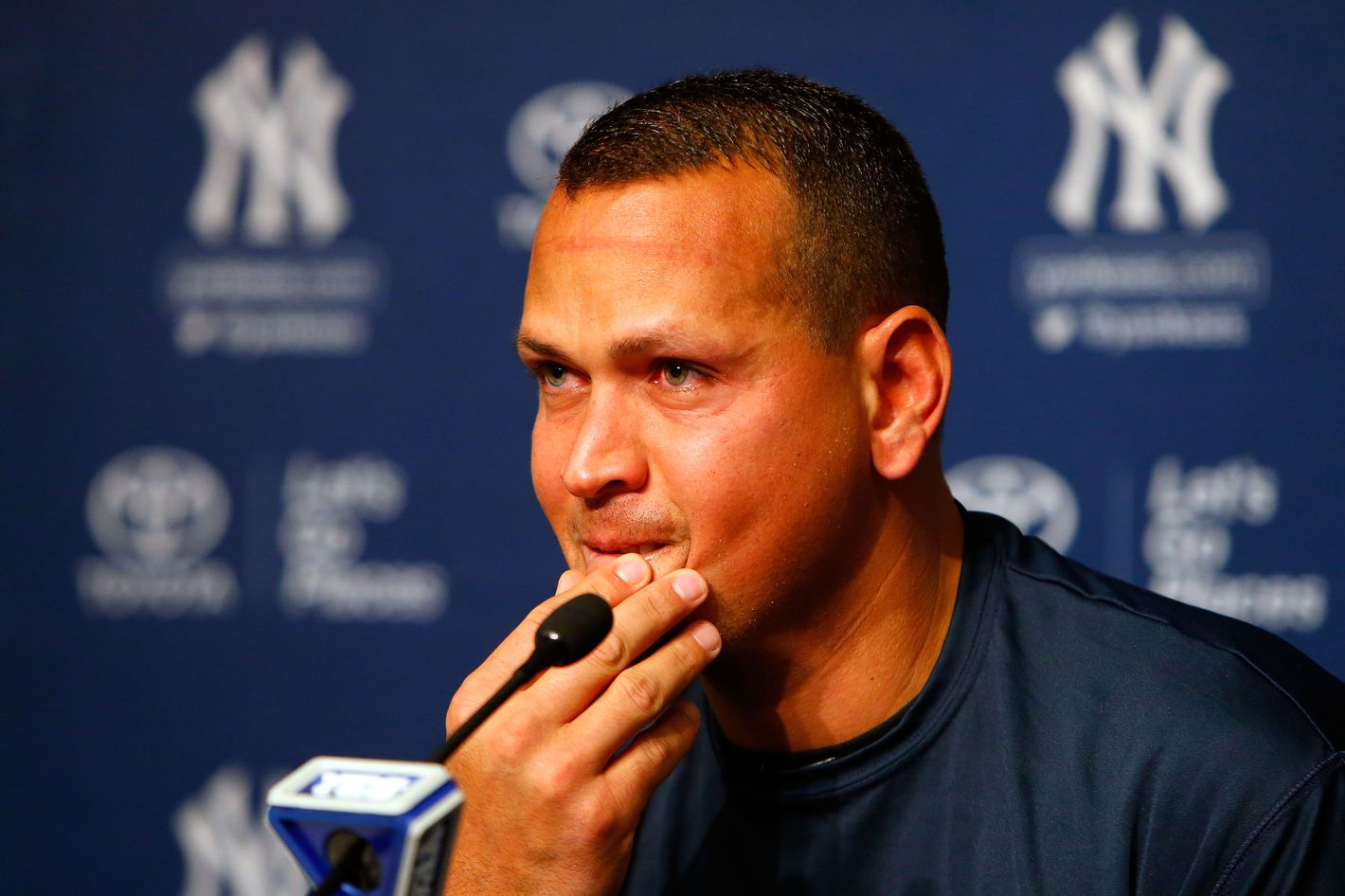 'This Is a Tough Day': Alex Rodriguez Announces Retirement