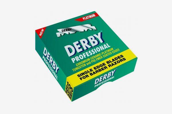 Derby Professional Single Edge Razor Blades (100 Count)