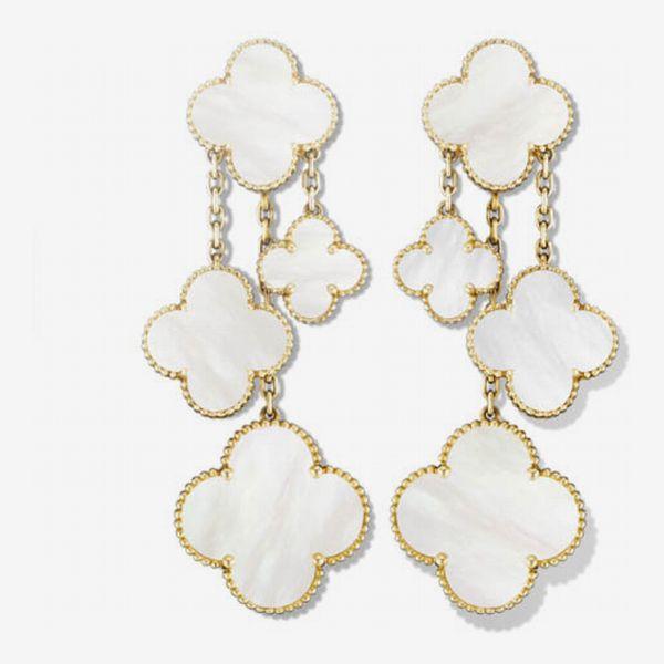 Van Cleef & Arpels Magic Alhambra Earrings, Four Motifs