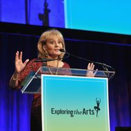 Barbara Walters speaks at the 6Th Annual Exploring the Arts Gala hosted by Tony Bennett And Susan Benedetto at Cipriani 42nd Street on October 4, 2012 in New York City.