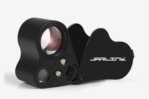 Jarlink 30X 60X Illuminated Jewelers Eye Loupe Magnifier