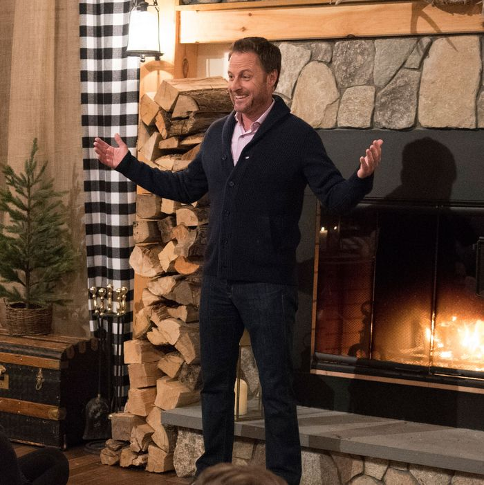 The Bachelor: Winter Games host Chris Harrison.