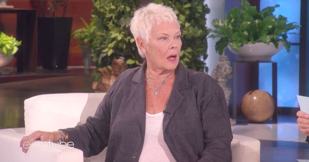 Judi Dench Is Having a Ball of Time Promoting Her New Movie